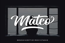 20% OFF   Mateo Script