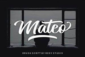 20% OFF | Mateo Script