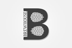 Brewhouse logo with letter B