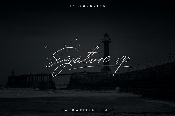 Script Fonts: Vladfedotovv - Signature vp - Handwritten font