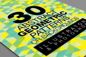 Abstract Geometric Backgrounds v.1