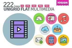 UniGrid Flat Multimedia