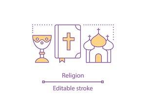 Religion concept icon