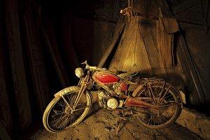 classic Moto Guzzi Hispania