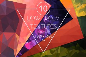 10 polygon backgrounds Textures