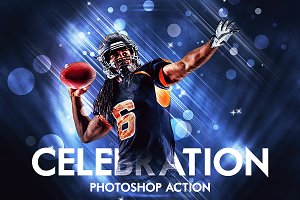Celebration Photoshop Action
