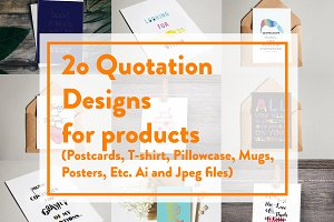 20 Quotation Designs for products