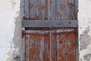 Brown shutters