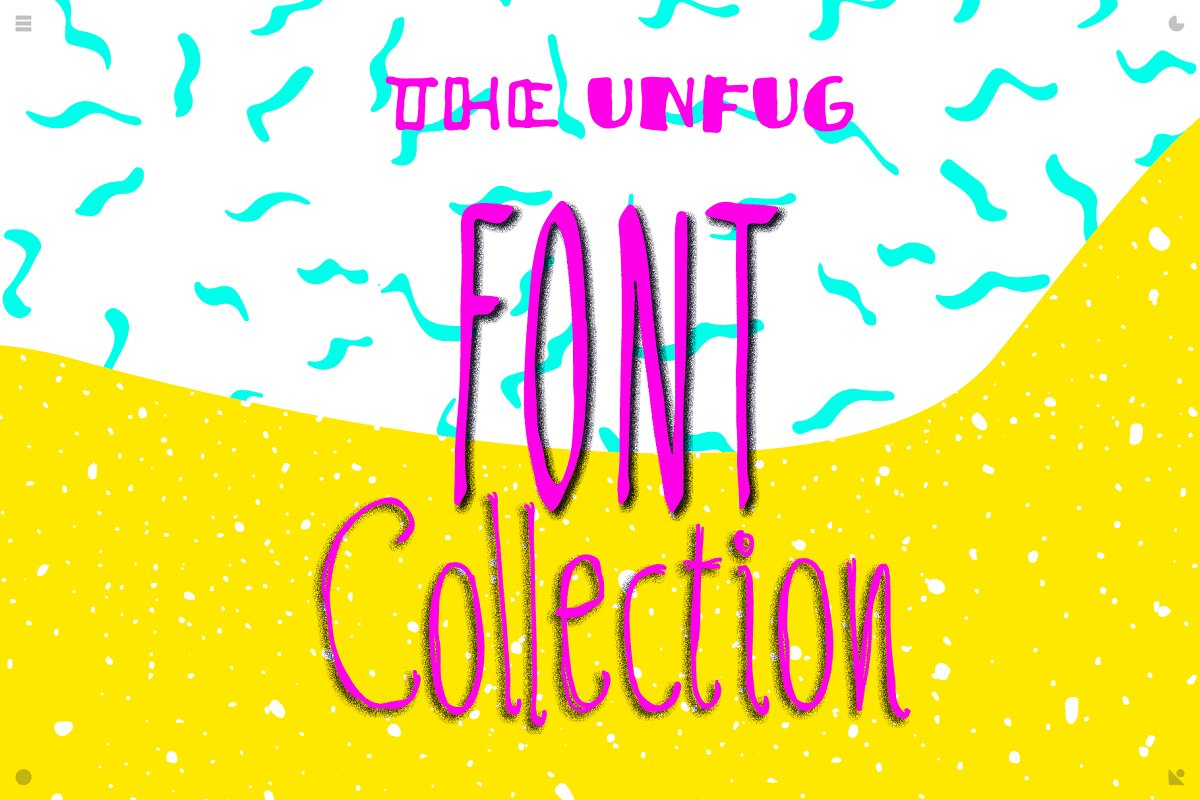 Unfug - the collection [font]