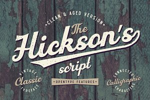Hickson's Script + Bonus