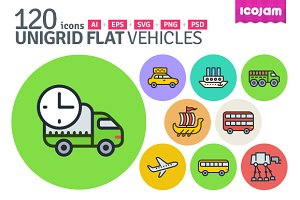 UniGrid Flat Vehicles