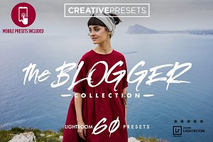 The Blogger Lightroom Presets+Mobile