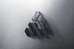 Logo Mockup 3D - PSD
