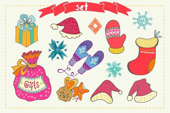 Winter in Illustrations