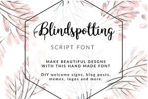 Blindspotting Handmade Script