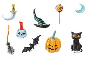 9 perfect Halloween objects for 9$