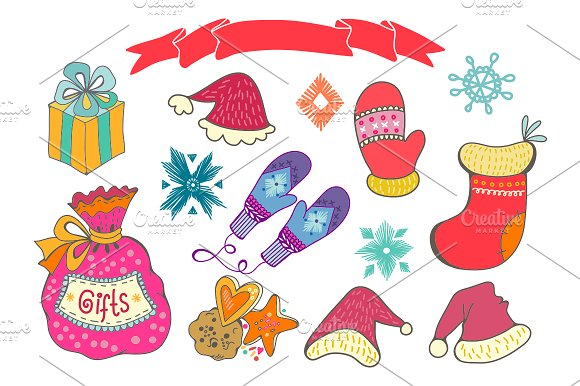 Winter in Illustrations - product preview 3