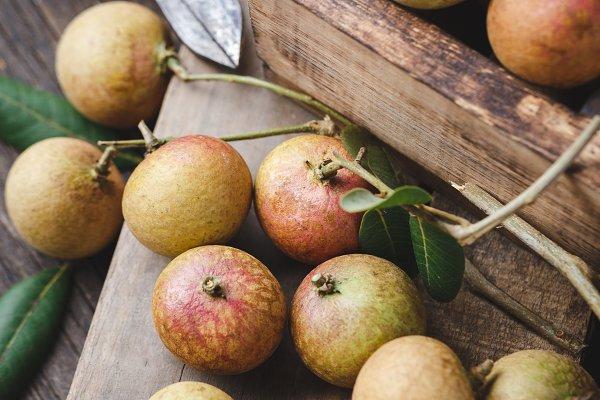 Food Stock Photos: TaTu - Fresh longan fruits