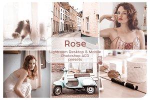 Rose Lightroom Presets