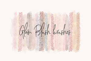 Glam Blush Brushes