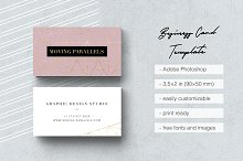 Elegant Gold Business Card 2