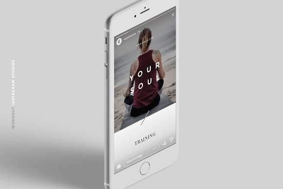 Workout Canva Social Media Pack in Instagram Templates - product preview 2