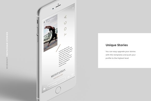Workout Canva Social Media Pack in Instagram Templates - product preview 10