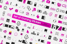 187 GAME stickers