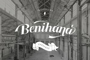 Benihana Vintage Font