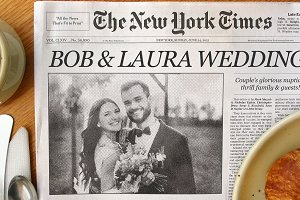 NY Times Front Page Custom Template!