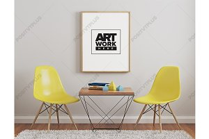 Modern Minimalist Poster Mockup