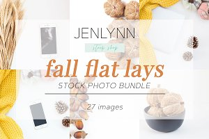 Fall Flat Lays | Styled Stock Photos