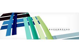 Minimal line design abstract