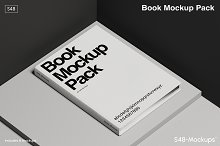 Mockup Pack - Minimal Book Covers by  in Stationery