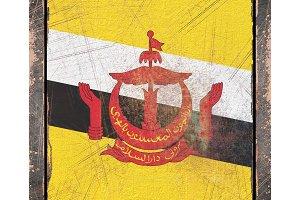 Old Brunei flag