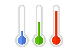 Thermometer Icon Set
