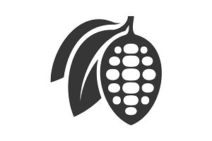 Chocolate Cocoa Beans Icon