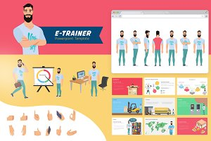 E-Trainer PowerPoint Template 1