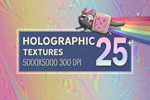 25 Holographic Textures