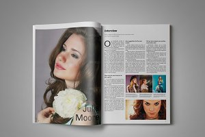 Clean & Modern Magazine Template