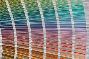 color samples system