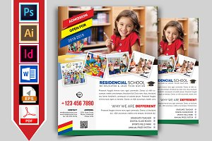 School Flyer Template Vol-01