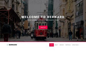 Bernard - Creative Agency Template