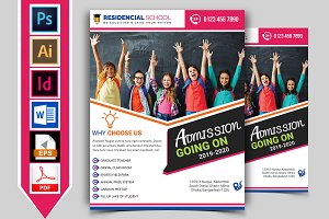 School Flyer Template Vol-03
