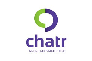 Chatr Chat Logo Template