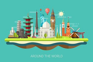 World Famous Places of Interest