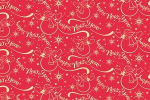 Happy New Year - pattern