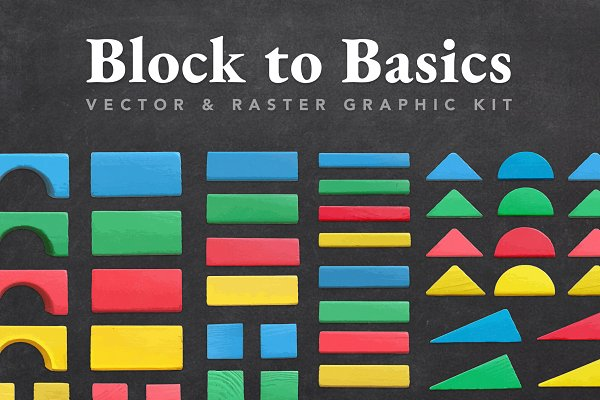 Objects - Block to Basics Graphic Kit