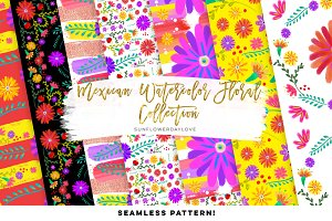 Mexican Fiesta Digital Paper