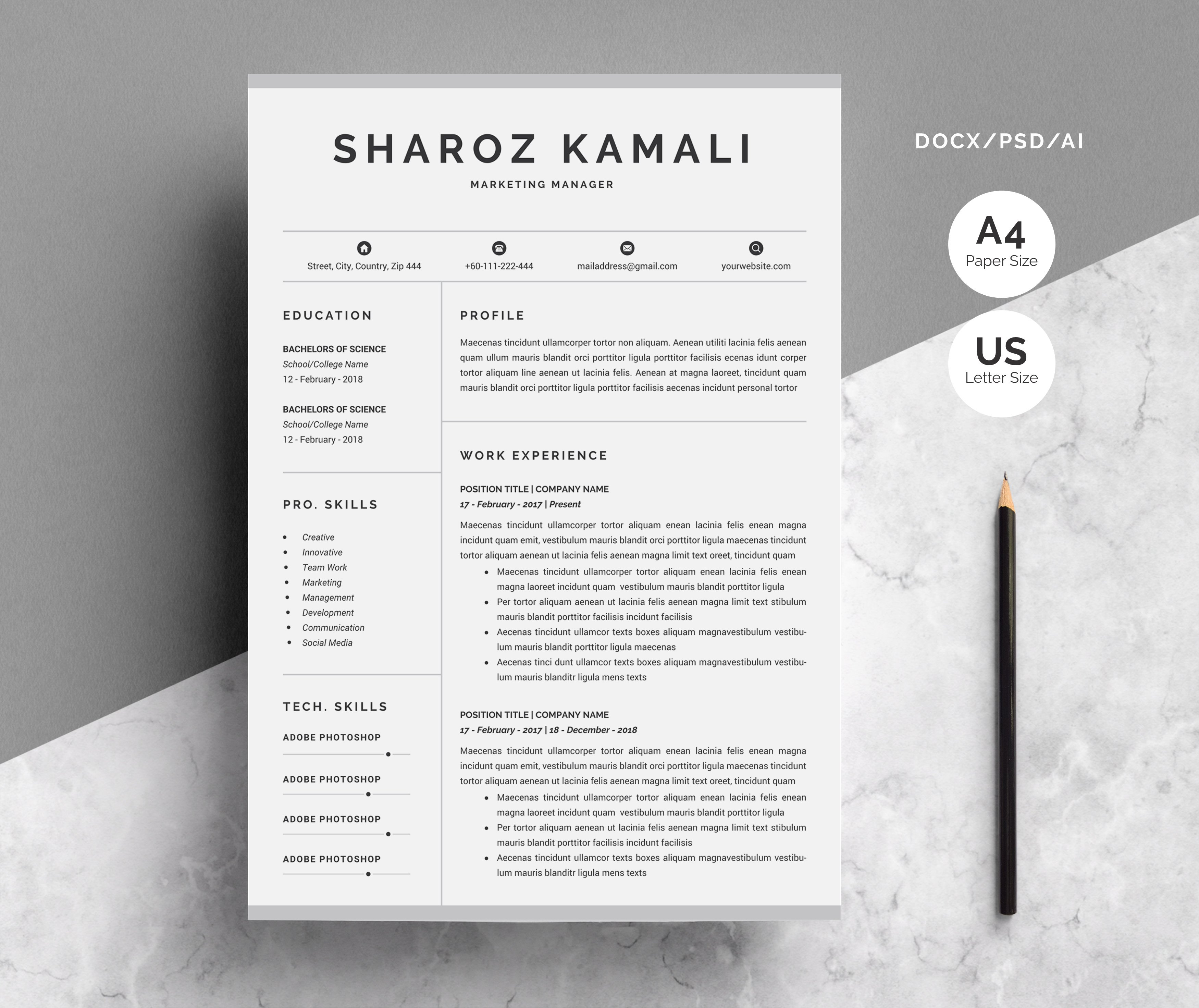 letter a objects pictures word resume amp cover letter resume templates creative 8227